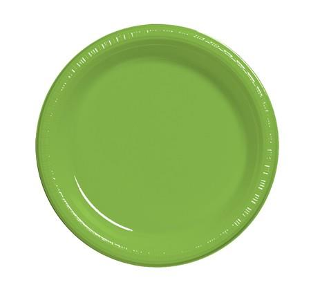 Where to find 7  Lime Plastic Plate in Naples