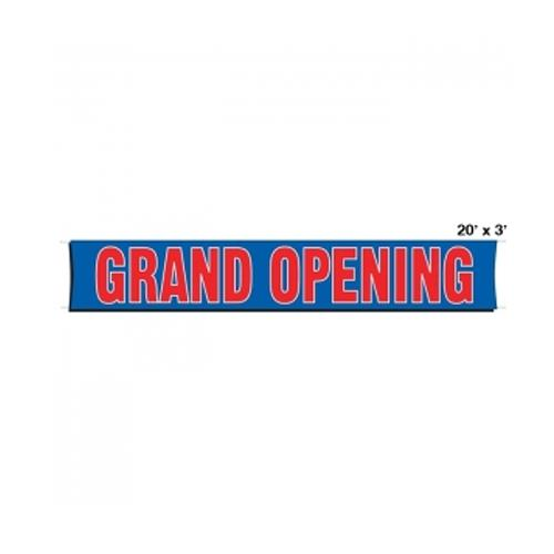 Where to find Banner Grand Opening 3 x20 in Naples