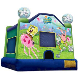 Where to find Bounce House SpongeBob in Naples