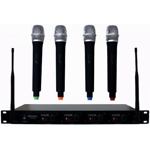 Where to find Microphone Cordless  4 mic system in Naples