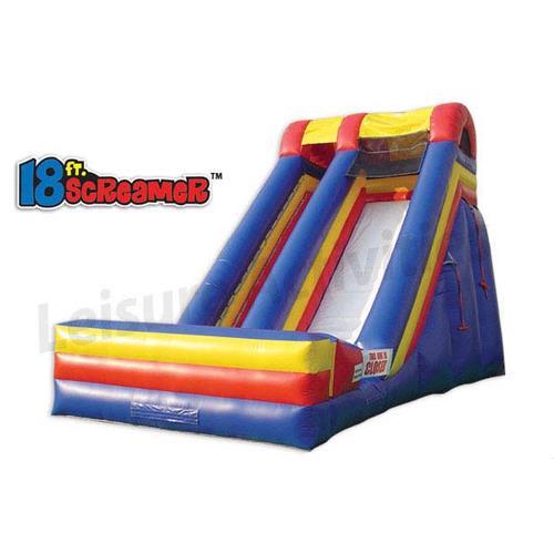 Inflatable Slide 18 Foot Screamer Dry Slide Rentals Naples