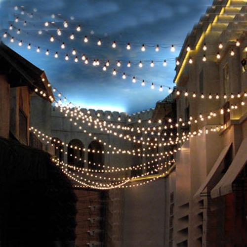 Landscape Lighting Naples Fl: LIGHT STRING 50 BULB/108 FOOT WHITE Rentals Naples FL