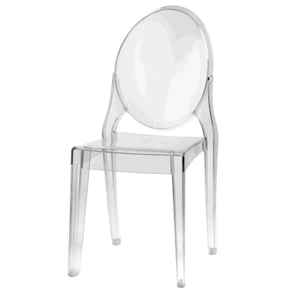 Where to find Chair Mirage Ghost Clear in Naples