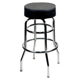 Where to find Stool Bar Black Chrome 29  no back in Naples