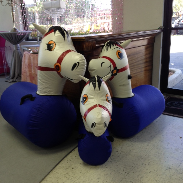 Where to find Inflatable Pony Lg Pair in Naples