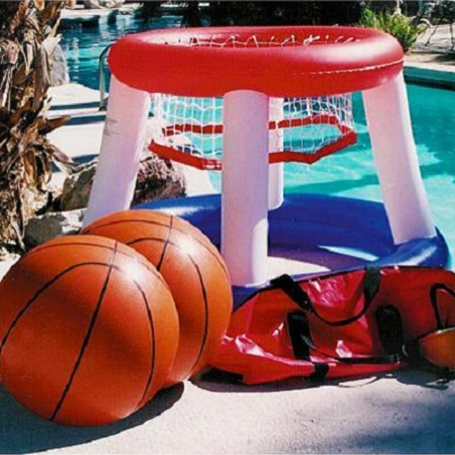 Where to find Game Basketball Inflatable 5   2 balls in Naples