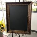 Rental store for Sign Framed Chalkboard in Naples FL