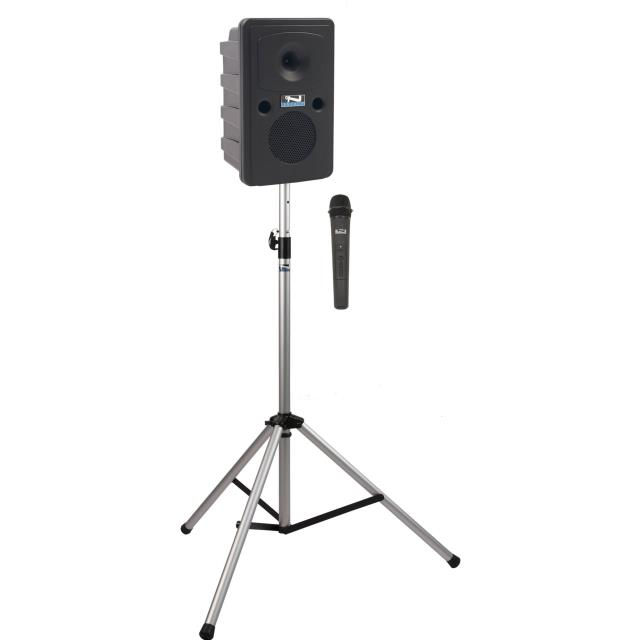 Where to find Pa Speaker w Handheld Mic 75 Watt in Naples