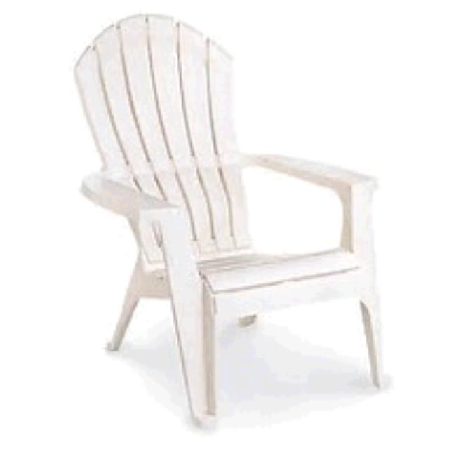 Where to find Chair Adirondack White Resin in Naples