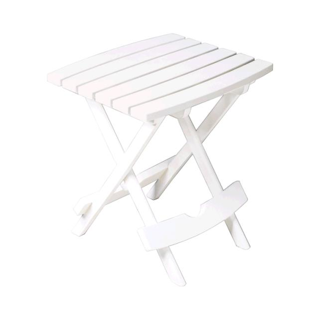 Where to find Table Adirondack White Resin Side in Naples