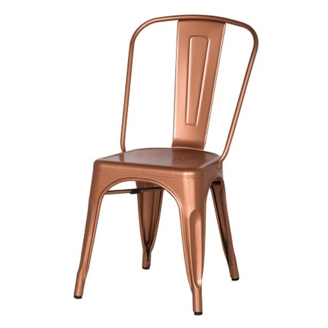 Where to find Chair Metal Copper in Naples