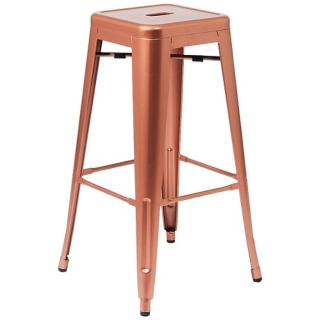 Stool Metal Copper Rentals Naples Fl Where To Rent Stool