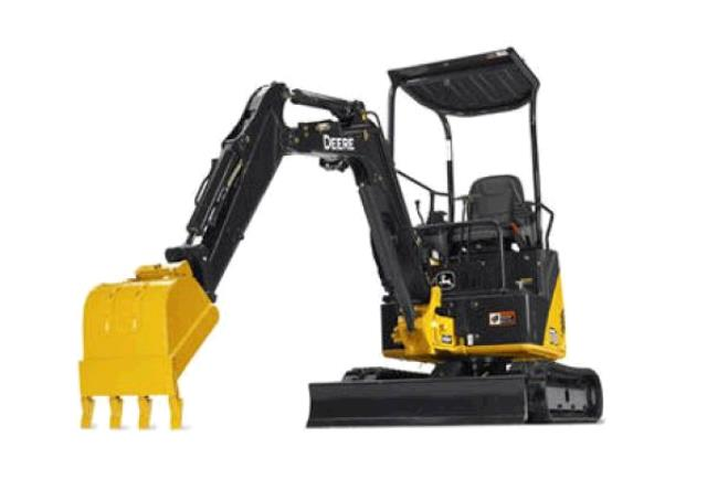 Where to find Backhoe Trackhoe Mini in Naples