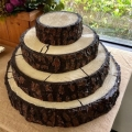 Rental store for Cake Stand Log Slice 22 in Naples FL