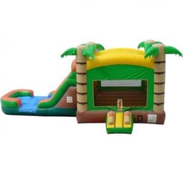 Where to find Bounce House Tropical Wet Dry Combo in Naples