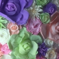 Rental store for Flower Foam 10  French Rose Lilac Purple in Naples FL