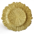 Rental store for Charger Plate 13  Gold Sponge in Naples FL