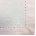 Rental store for Linen Napkin Hemstitch Ice Pink in Naples FL