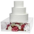 Rental store for Acrylic Cake Plateau 18x18 in Naples FL