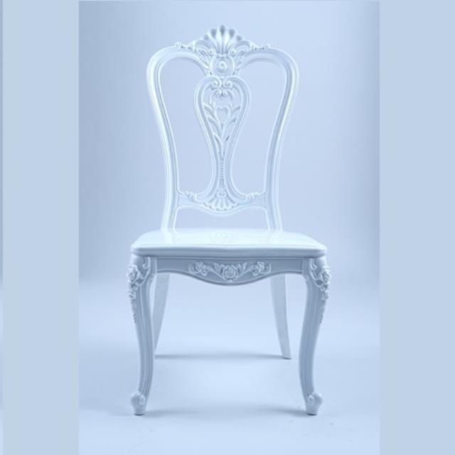 Where to find Chair Royal White in Naples