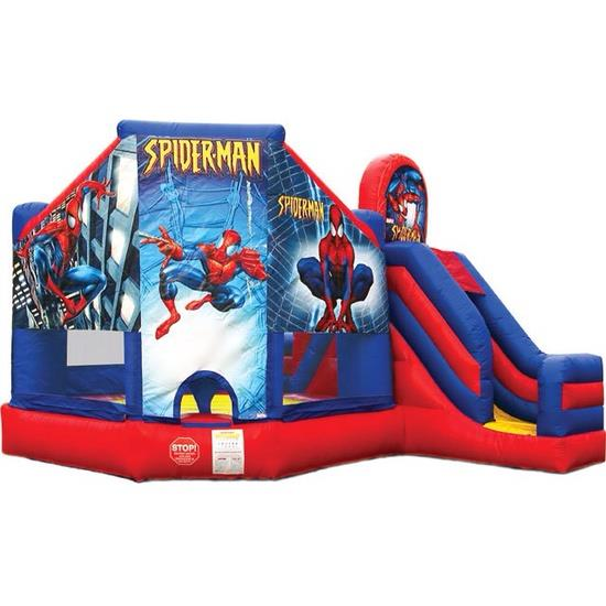 Where to find Bounce House Spiderman Combo in Naples