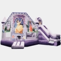 Used Equipment Sales Bounce House Princess Combo in Naples FL