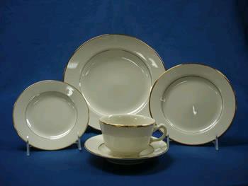 Where to find China Ivory Gold Band 10 Dinner Plate in Naples ... : myer dinner plates - pezcame.com