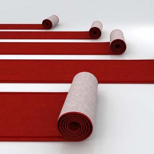 Aisle Carpet Red 50 Foot X3 Foot Rentals Naples Fl Where