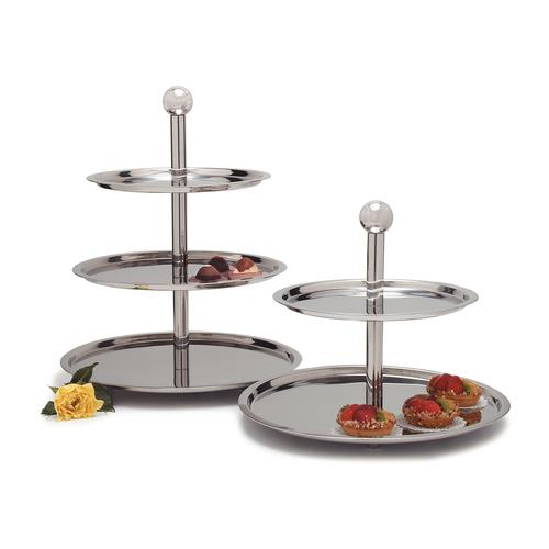 Where to find Tray Stainless 2 Tier in Naples