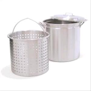 Where to find Pot 40qt w Basket in Naples