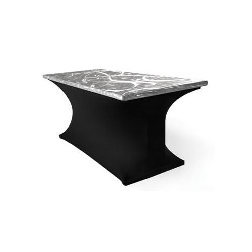 Where to find Table Banq 6  Aluminum Swirl in Naples