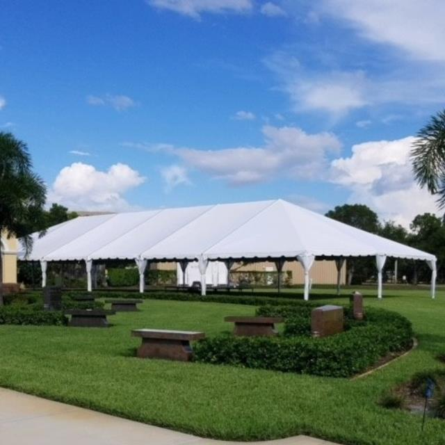 Where to find Mid tent 40x15 frm white  Toptec in Naples