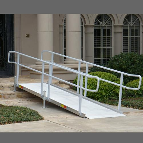 Where to find Ramp 12  With Hand Rails For 24  Rise in Naples