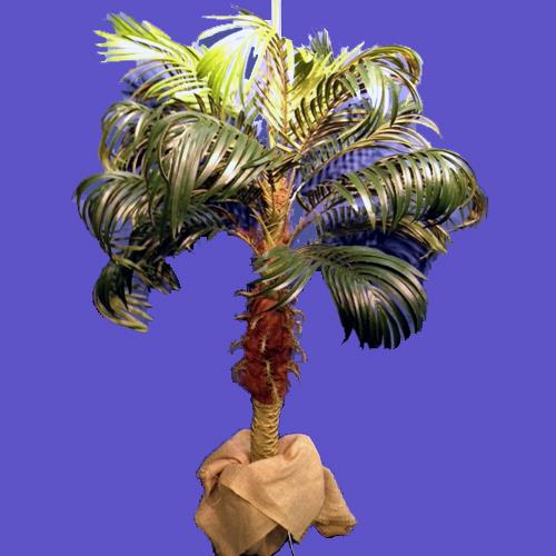 Centerpiece Palm Tree 36 Inch Tabletop Rentals Naples Fl