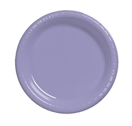 Where to find 10  Lavender Plastic Plate in Naples